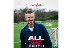 David Beckham Hadiri AIA Vitality di Indonesia pada Januari 2021