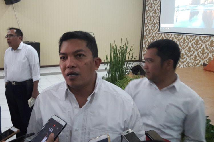 Direktur Reserse Kriminal Khusus ( Ditreskrimsus) Kombes Pol Abdul Karim, di Polda Banten, Senin (31/12/2018).