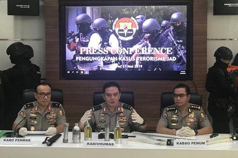 Sepanjang Mei 2019, Polisi Tangkap 29 Terduga Teroris