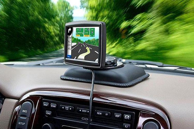 Ilustrasi GPS tracker kendaraan tambahan keamanan