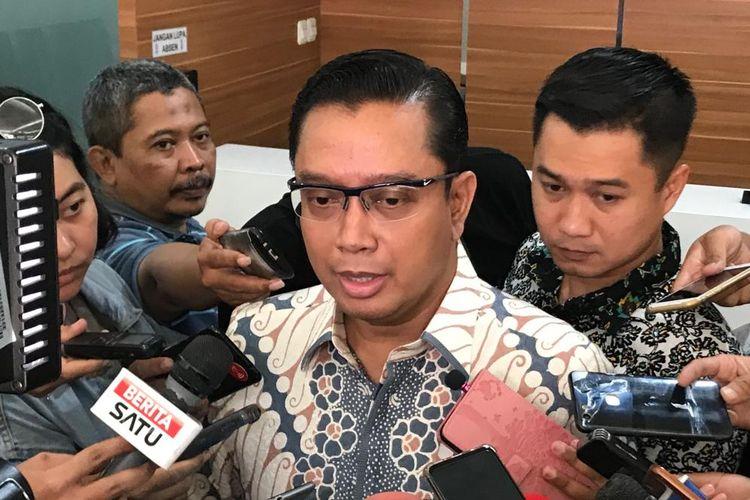 Kepala Bagian Penerangan Umum (Kabagpenum) Polri Kombes Pol Asep Adi Saputra di Gedung Humas Mabes Polri, Jakarta Selatan, Jumat (23/8/2019).