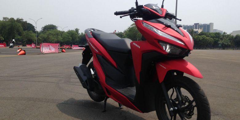Honda Vario 150 Dan 125 Kini Tanpa Kick Starter