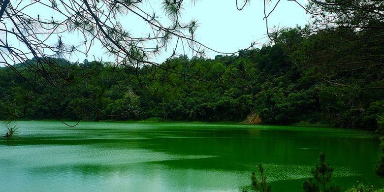 Danau Linau di Tomohon, Sulawesi Utara