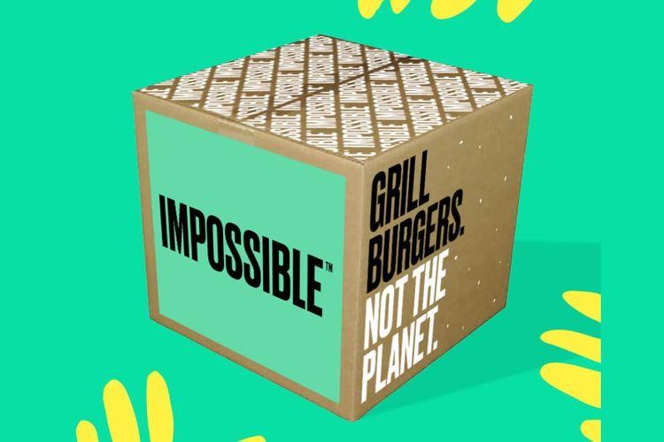 Ilustrasi produk Impossible Foods.