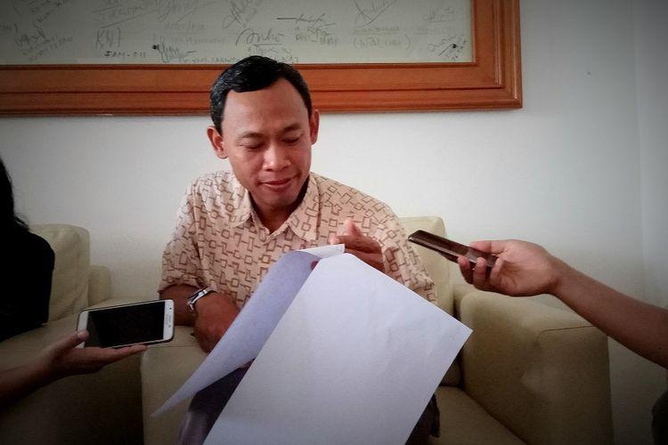 Komisioner KPU Pramono Ubaid