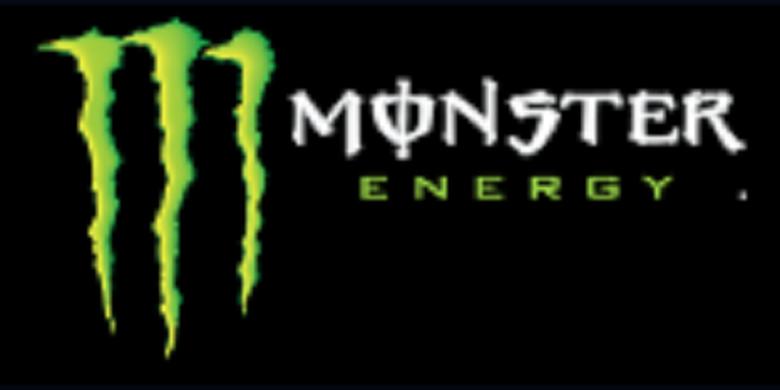 Logo Monster Energy.