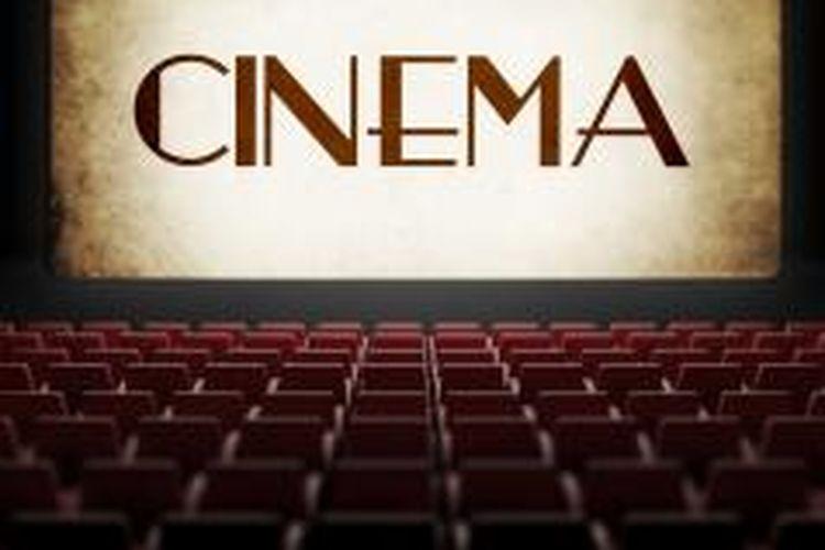 Ilustrasi film di bioskop