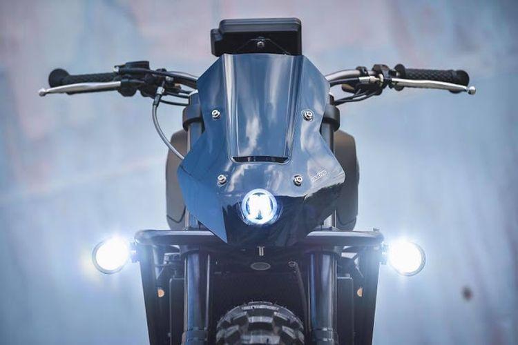 Benelli Leoncino 250 bergaya tracker garapan K-Speed