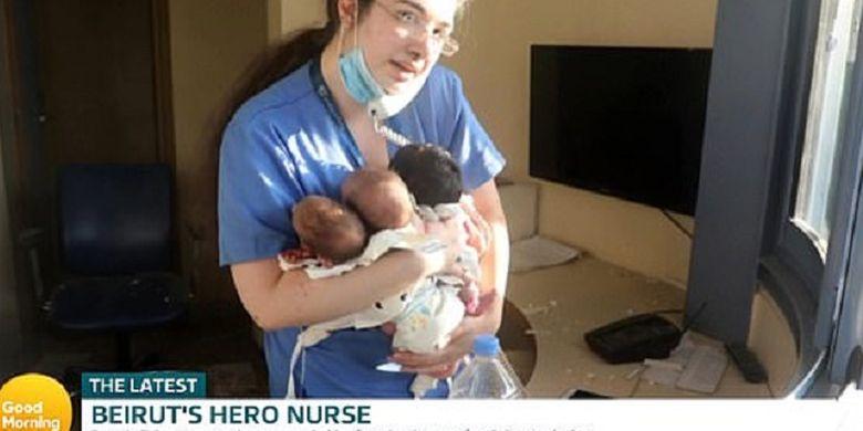 Perawat Pahlawan Ini Kisahkan Momen Selamatkan 3 B