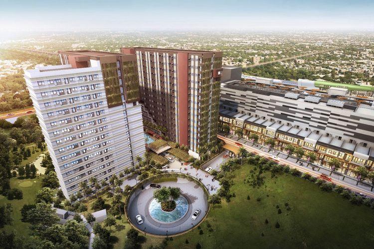 Unit-unit apartemen Lot 1 LRT City Jatibening, Bekasi, mulai diserahkan kepada konsumen sejak Sabtu (7/11/2020).