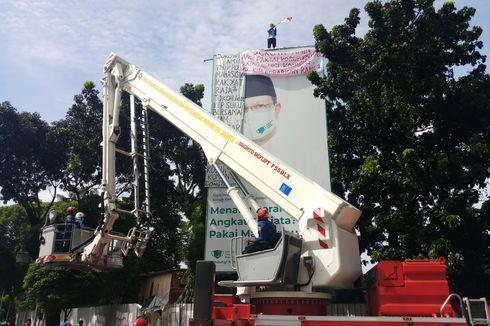 Agustinus Panjat Tower Baliho Lagi, Polisi Sebut Itu Upaya Cari Sensasi