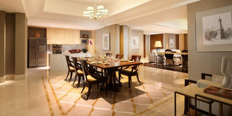 Dining Room di Presidential Suite