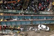 Korban Tewas Tragedi Jalan Layang Ambruk di India Jadi 14 Orang