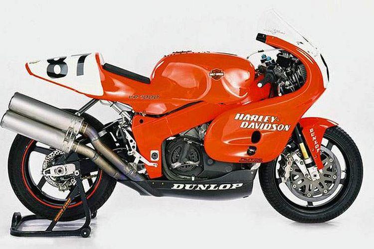 VR1000, satu-satunya motor sport yang diproduksi Harley-Davidson