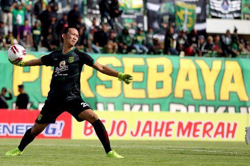 Persebaya Vs Arema FC, Bajul Ijo Andalkan Rivky Mokodompit di Bawah Mistar Gawang
