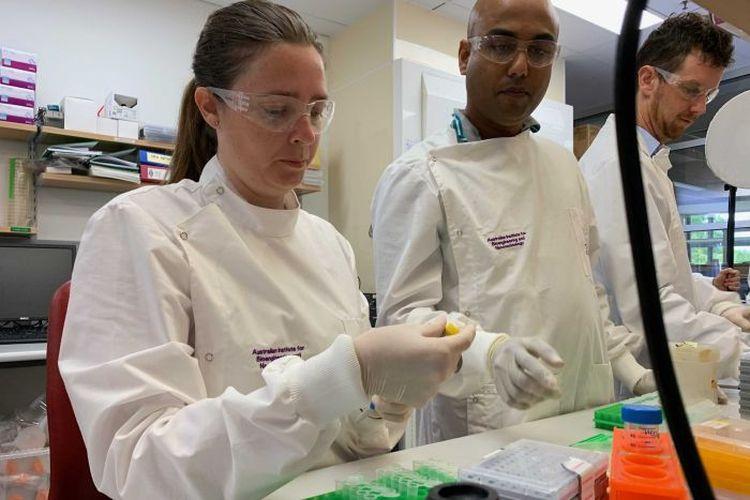 Peneliti Queensland adalah satu dari tiga tim di seluruh dunia yang mengerjakan vaksin virus corona.