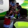 Viral, Video ODGJ Diseret dari Dalam Pesawat di Bandara Lampung