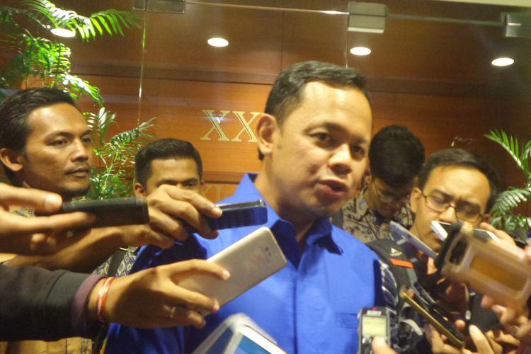 Wali Kota Bogor, Bima Arya seusai menghadiri peresmian The Yudhoyono Institute di Djakarta Theater, Kamis (10/8/2017).