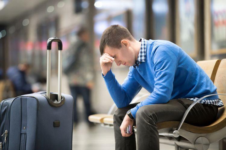 Hindari stres saat bepergian
