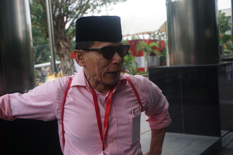 Anggota BPK RI Rizal Djalil saat ditemui sebelum menialani pemeriksaan di Gedung Merah Putih KPK, Rabu (9/10/2019).