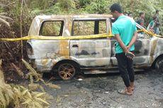 Seorang Pedagang Roti Dilaporkan Hilang, Mobilnya Ditemukan Terbakar