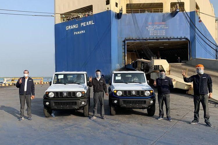 Maruti Suzuki resmi memulai ekspor perdana Jimny buatan India ke pasar Amerika Latin