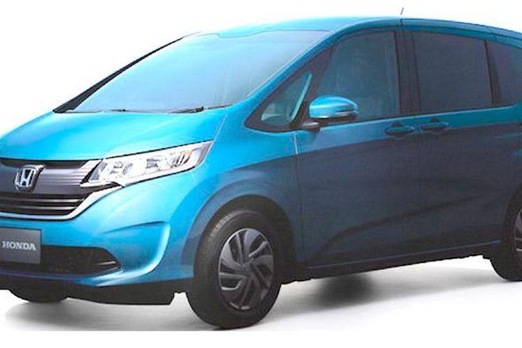 Tampang asli Honda Freed generasi terbaru bocor di dunia maya.