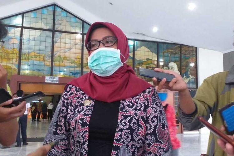 Bupati Bogor Ade Yasin saat ditemui di Pendopo Cibinong, Kabupaten Bogor, Jawa Barat, Selasa (19/5/2020).