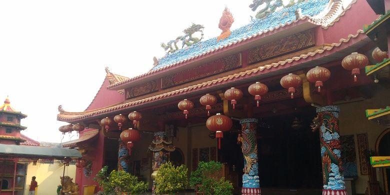 Vihara Avalokitesvara tampak depan.