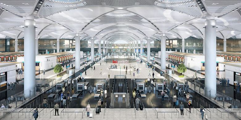 Istanbul New Airport.