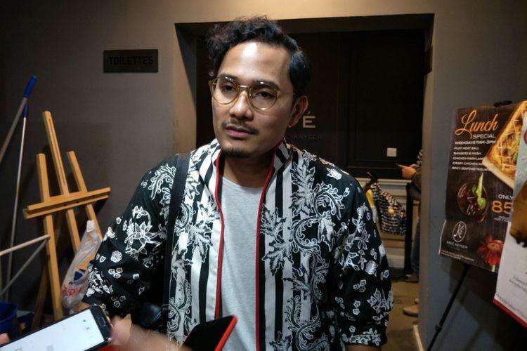 Tanta Ginting saat ditemui di Institut Français d'Indonésie (IFI), Jakarta Pusat, Selasa (12/12/2017).
