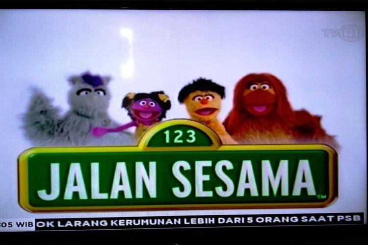 Tangkapan layar tayangan Jalan Sesama episode, Selasa (14/4/2020).
