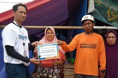 Pembaca Kompas.com Bantu Pengungsi Banjir dan Longsor di Sukajaya Bogor