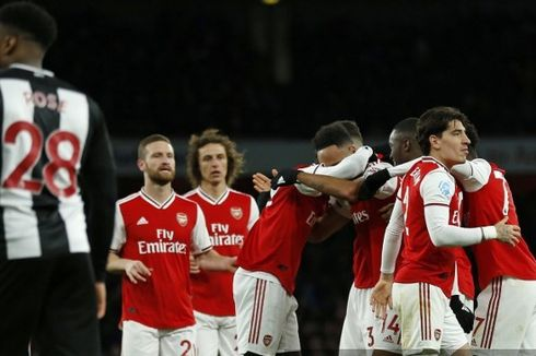 Arsenal Vs Newcastle - Menang Telak, The Gunners Masih di Papan Tengah