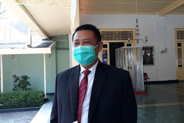 Sekda DIY Kadarmanta Baskara Aji, saat ditemui di kantornya kompleks Kepatihan, Yogyakarta, Senin (3/8/2020)