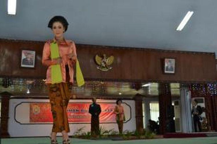 Peserta finalis pemilihan duta wisata 2013 Kabupaten Kendal