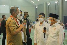 Tinjau Vaksinasi di Tangsel, Wapres Minta Walkot Benyamin Lakukan 3 Hal Ini