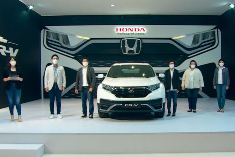 Honda CR-V Facelift resmi meluncur di Indonesia