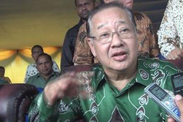 Presiden Direktur PT Freeport Indonesia Rozik B Soetjipto.