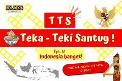 TTS - Teka-Teki Santuy Ep. 12 Indonesia Banget