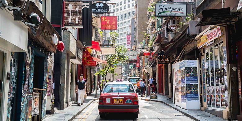Old Town Central di Hongkong.