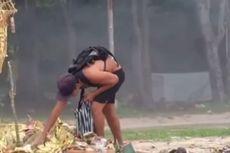Heboh WNA Mengais Makanan Sesajen di Pantai Kuta, Satpol PP: Mirip yang Mengemis di Pecatu