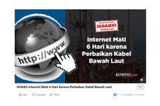 VIDEO Cek Fakta: Hoaks! Internet Mati 6 Hari karena Perbaikan Kabel Bawah Laut