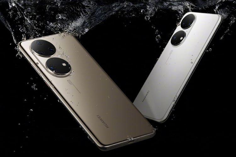 Ilustrasi Huawei P50 dan P50 pro
