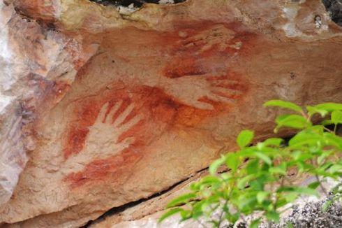 Cagar Budaya Gorontalo Rilis Temuan Lukisan Tangan Purba