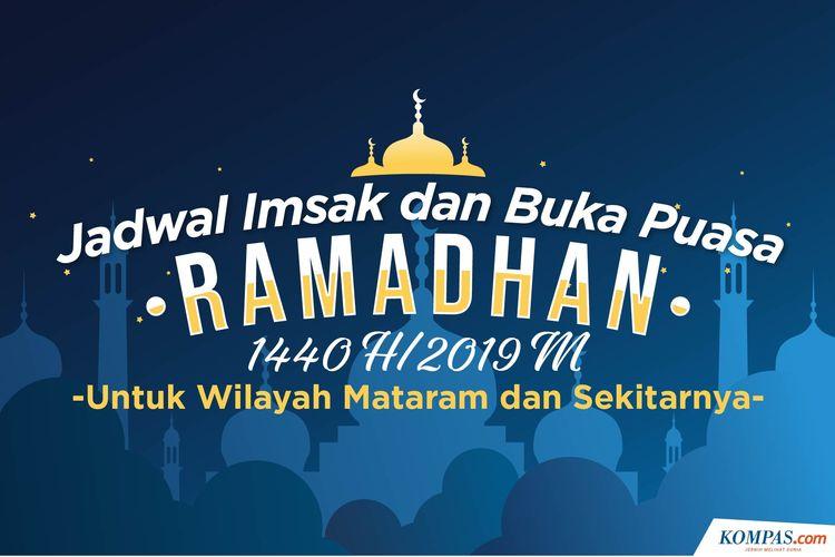 Jadwal Imsak dan Maghrib Ramadhan 2019 Wilayah Mataram dan Sekitarnya