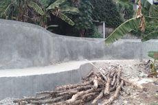 BERITA FOTO: Penampakan Tanggul Jati Padang Setelah Dibangun Pasca Jebol