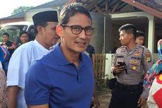 Sandiaga: Pesan Pak Prabowo 'Dukung Pak Jokowi, Amankan Sampai 2019'