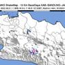 Gempa Tektonik M 3,0 Guncang Rancabali Bandung Dipicu Sesar Garsela