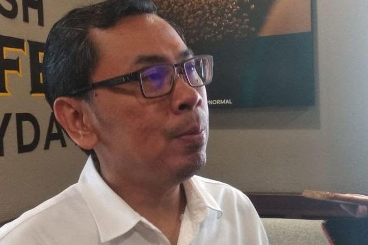 Staf Khusus Menkeu Yustinus Prastowo di Jakarta, Selasa (1/10/2019).